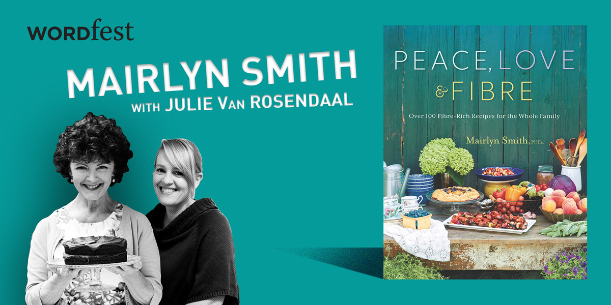 Wordfest Presents Mairlyn Smith (Peace, Love & Fibre)