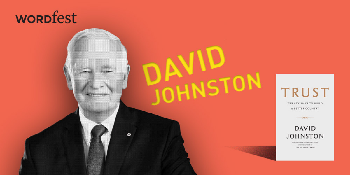 Wordfest presents David Johnston