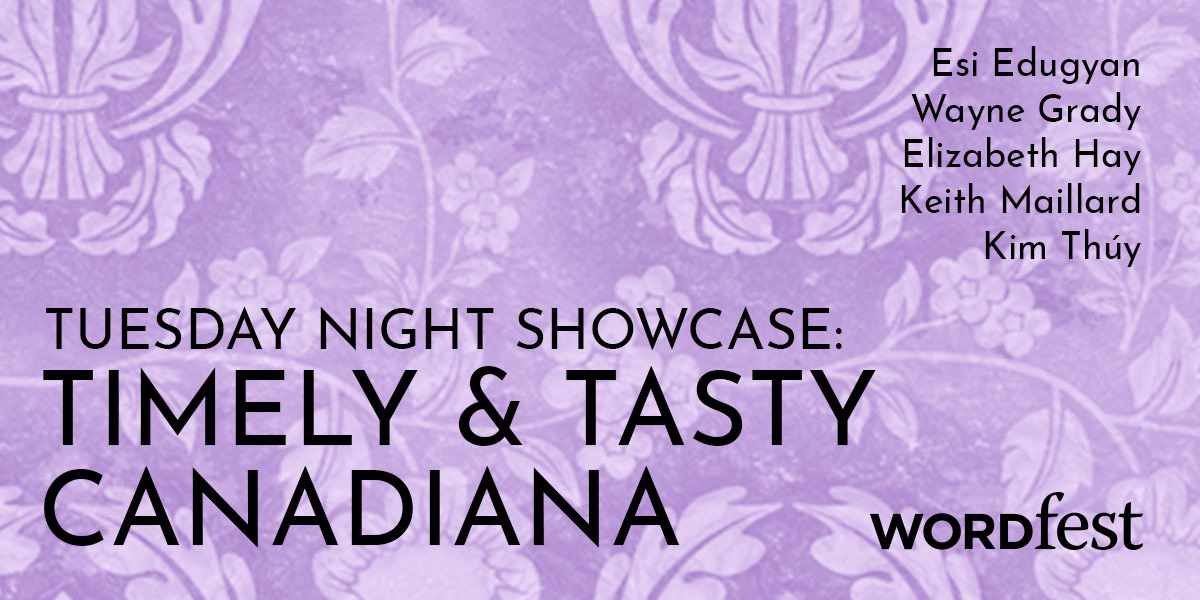 Tuesday Night Showcase: Timely and Tasty Canadiana