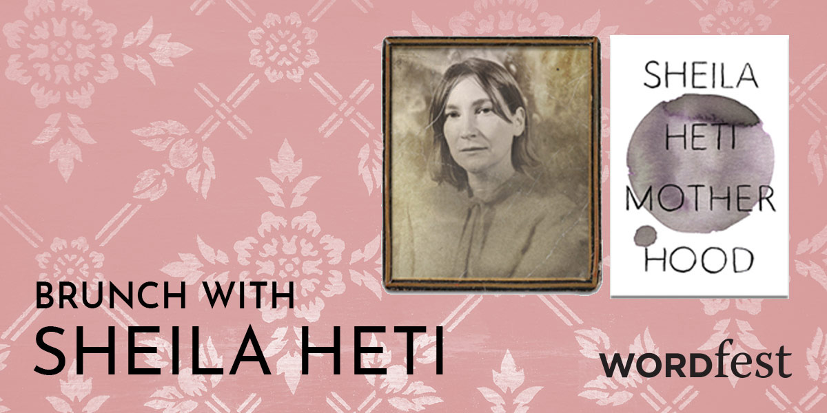 Brunch with Sheila Heti