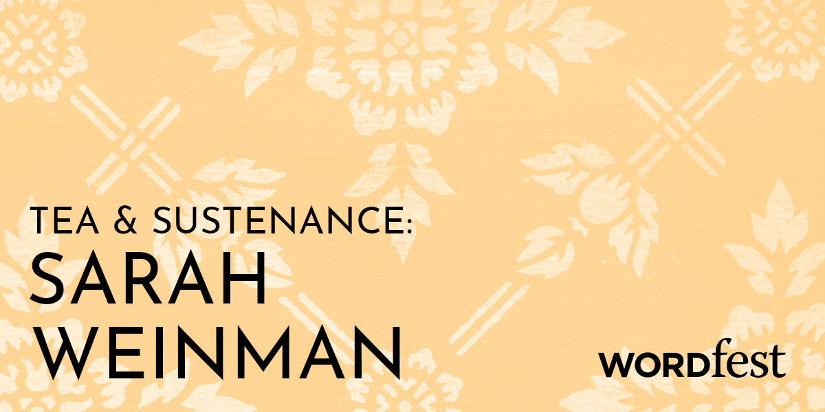 Tea and Sustenance: Sarah Weinman