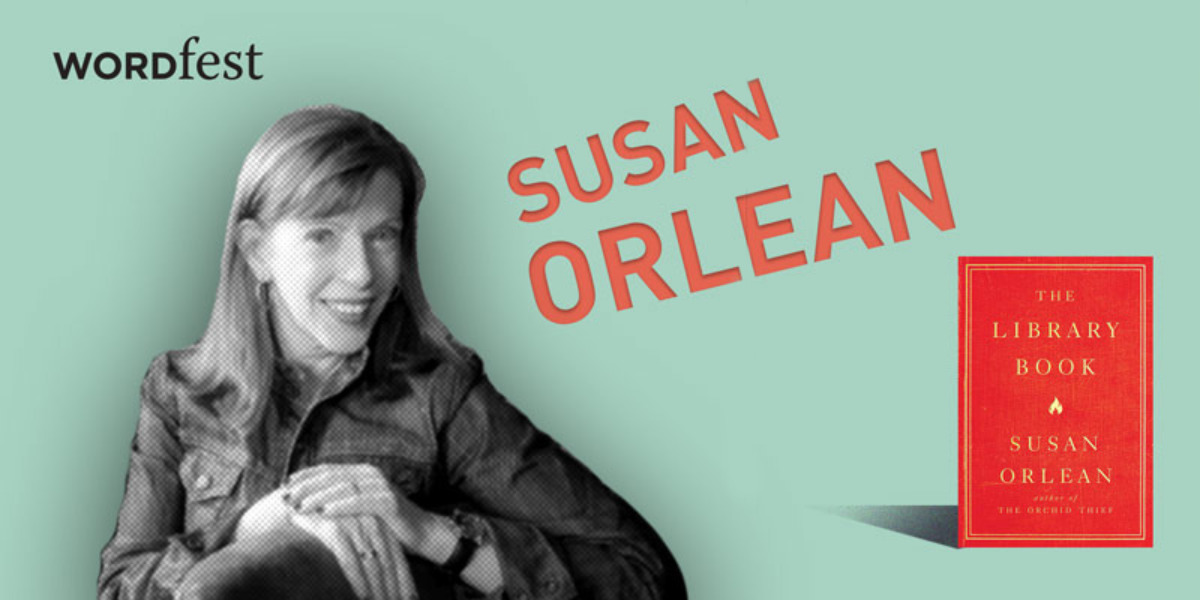Wordfest presents Susan Orlean
