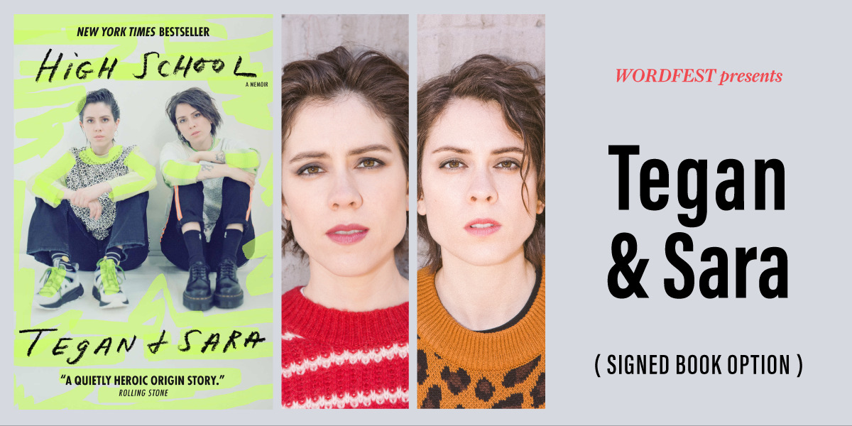 Wordfest Presents Tegan & Sara with Vivek Shraya