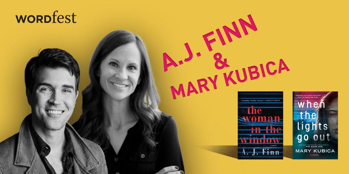 Wordfest presents A.J. Finn & Mary Kubica