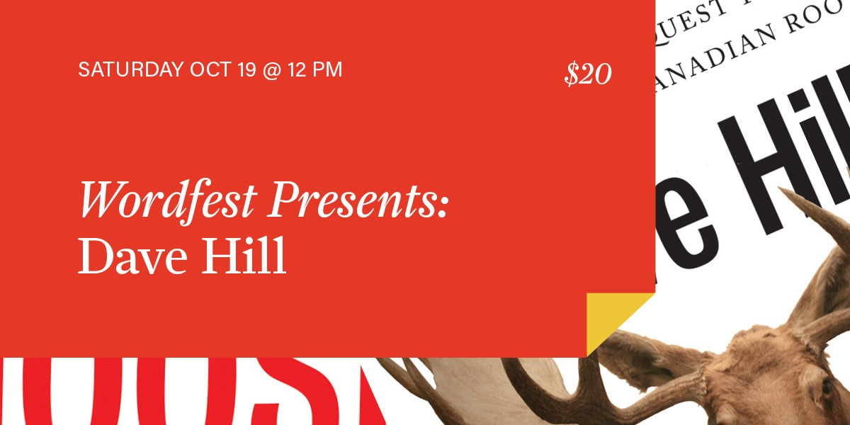 Wordfest Presents Dave Hill