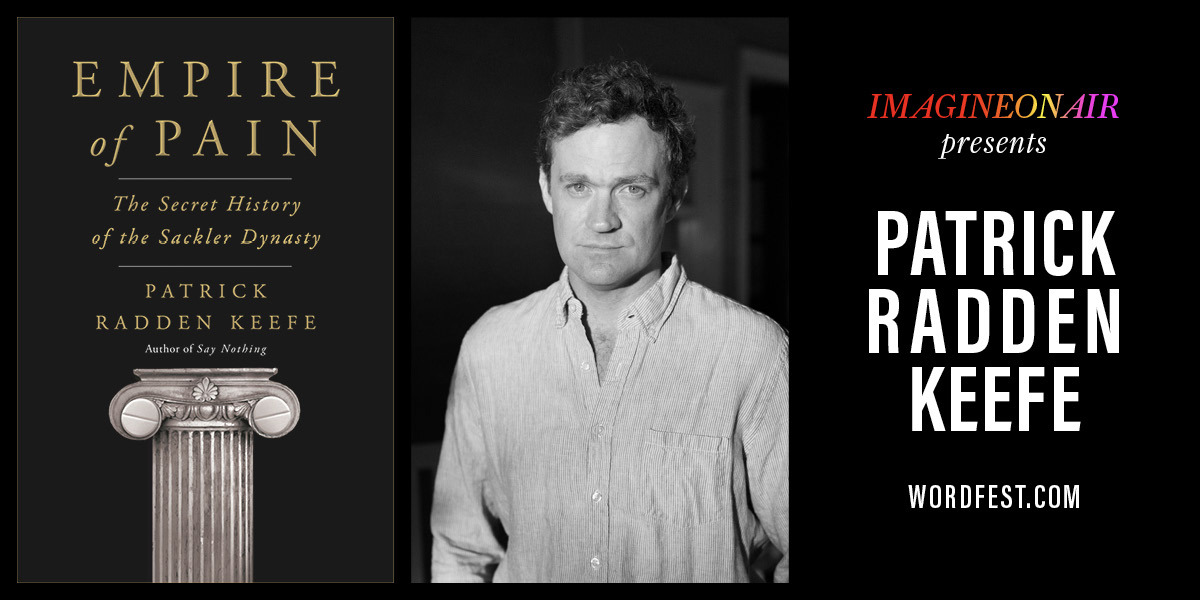 Wordfest presents Patrick Radden Keefe