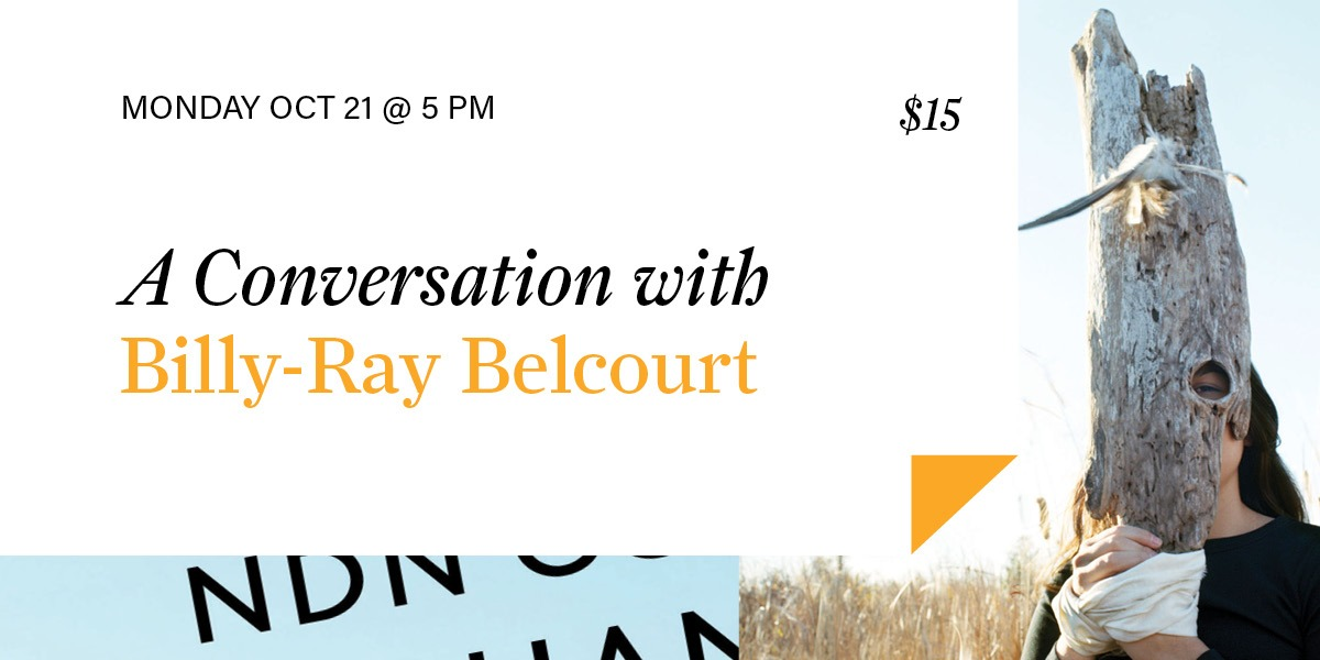 A Conversation with Billy-Ray Belcourt
