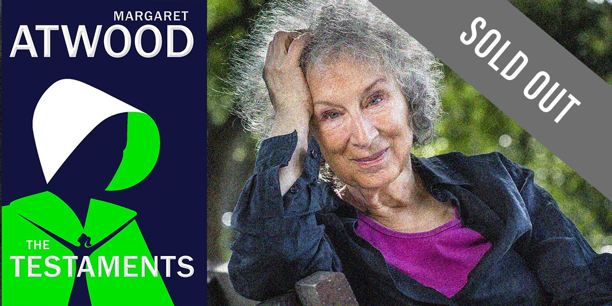 Wordfest Presents Margaret Atwood (The Testaments)