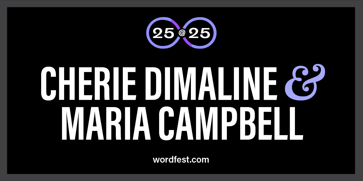 Wordfest 25@25: Cherie Dimaline & Maria Campbell
