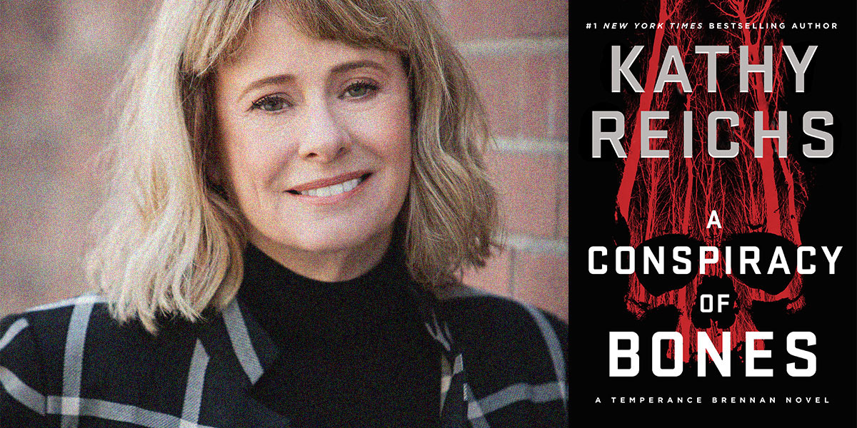Wordfest Presents Kathy Reichs (A Conspiracy of Bones)