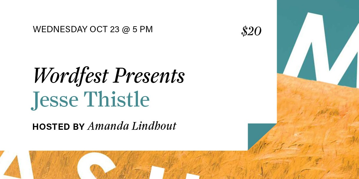 Wordfest Presents Jesse Thistle
